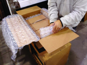 When Protective Packaging Is More Efficient, Less Is More